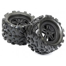 ProLine Big Joe 3.8 Tire w/Tech 5 Monster Truck Wheel (Black)