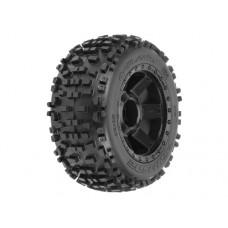 ProLine Badlands 2.8 Tire w/Desperado Rear Wheels (Black)