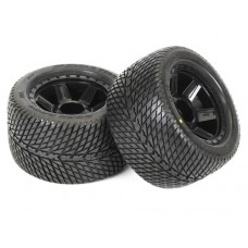 ProLine Road Rage 3.8 Tire w/Desperado 17mm, 12mm Offset (Black)
