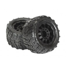 ProLine Shockwave 3.8 Tire w/F-11 17mm, 12mm Offset (Black)
