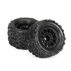 ProLine Big Joe II 3.8 Tire w/F-11 17mm, 12mm Offset (Black)
