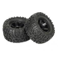 Колеса с внедорожной резиной Trencher 2.8 Tire w/Desperado Wheels (Black) вылет +7 мм