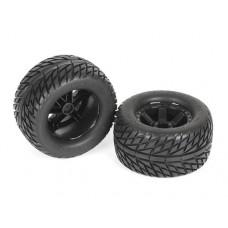 Готовые колеса с шоссейной резиной ProLine Street Fighter 2.8 Tire w/Desperado Rear Wheels (Black)
