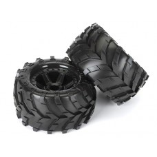 ProLine Masher 2.8 Tire w/Desperado Wheels (Black)