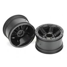 ProLine Desperado 2.2 Wheels (Black) for 1/16 E-Revo