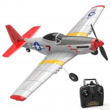 Мини-модель самолета P51D Mustang для полетов в зале и на улице