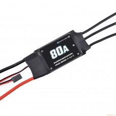 Электронный регулятор оборотов 80A c поддержкой аккумуляторов до 6S
