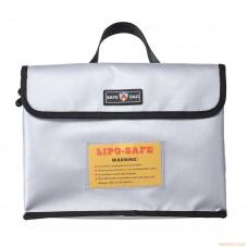 Огнеупорная сумка для зарядки и хранения литий-полимерных аккумуляторов (260x180x130мм)