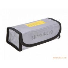 Огнеупорная сумка для зарядки и хранения литий-полимерных аккумуляторов (185x75x60мм)