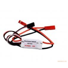 Модуль дистанционного управления светом 30A RC Switch Light Control Panel System Turn on / Off 3CH