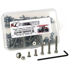 Disc. RC Screwz Stainless Steel Screw Kit for T-Maxx 3.3