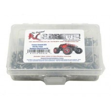 Disc. RC Screwz Stainless Steel Screw Kit for 1/16 Summit