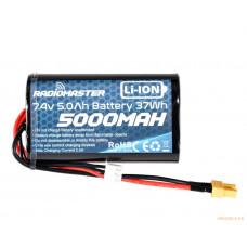 Литий-ионный аккумулятор 2S 7.4V 5000mAh (XT30) для Radiomaster TX16S
