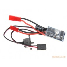 10A Brushed ESC 2S Speed Controller w/ Brake for 1/16 1/18 1/24 RC Car