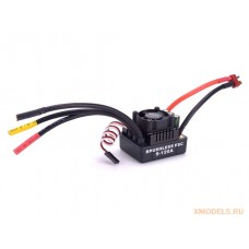 120A Brushless ESC 2-4S Sensorless Speed Controller for 1/8 1/10 RC Car