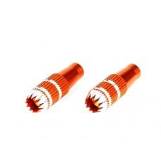 Spektrum Short Stick Ends (Orange) 24mm