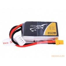 GensAce 11.1В 850мАч 75C (3S1P)