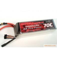 5000mAh 6S 22.2V G8 Pro Force 70C LiPo