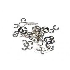 Traxxas E-clips, C-rings, Body Clips