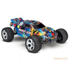 Модель заднеприводного трака Rustler 2WD Stadium-Truck