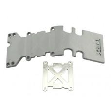 Traxxas Rear Skid Plate Rear (Grey) for Maxx