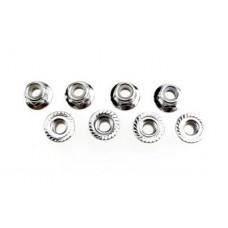Traxxas Nuts M5 Flanged Nylon Locking