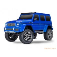 модель внедорожника на шасси Traxxas TRX-4 Mercedes G 500 4x4 синий
