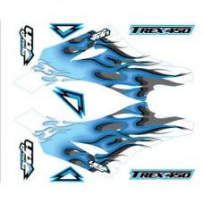 UPgrade Hyper Flames Kit (Blue) Align for T-Rex 450