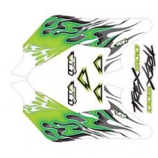 UPgrade Hyper Flames Kit (Green) Align for T-Rex 500