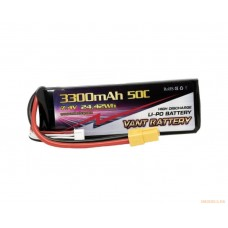 Литий-полимерный аккумулятор KPAMax 3300mah 2S 50C