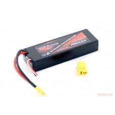 Литий-полимерный аккумулятор KPAMax 7600mah 2S 50C