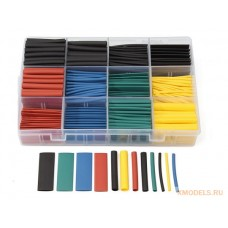 530pcs Multi Color Heat Shrink Tubing Insulation