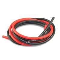 Силовые провода сечением 14AWG (черный и красный) 1.0м