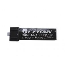 Disc. Flytown NanoTech LiPo 3.7V 200mAh 35C for Micro Blade