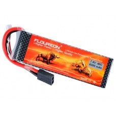 Floureon LiPo 7.4V 2S 6200mAh 40C (Traxxas Plug)